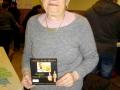 Mme Derrien gagnante des 2 repas au Ver Luisant