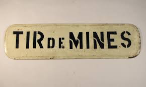 Tir de mines