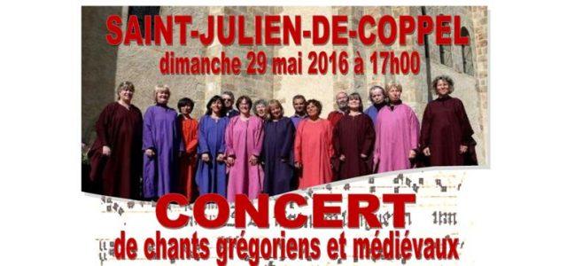 Le CCAS propose un nouveau concert à l'église de Saint-Julien-de-Coppel. Les amateurs(trices) de chants grégoriens et médiévaux pourront apprécier les voix du chœur de l'Atelier Grégorien de Clermont-Ferrand à 17 […]