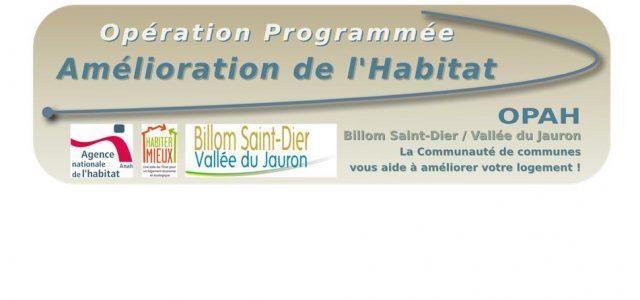 OPAH – Opération Programmée d'Amélioration de l'Habitat Billom Saint-Dier / Vallée du Jauron La Communauté de communes vous aide à améliorer votre logement ! Opération ouverte aux habitants du Bourg […]