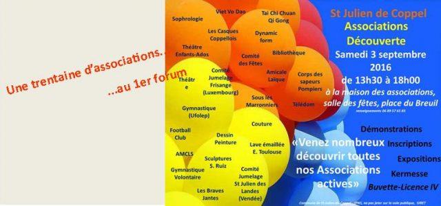 Le 3 septembre a eu lieu le 1er forum des associations «Saint-Julien Associations-Découverte». Un investissement sans faille de toutes les associations a permis la réalisation de cette journée vouée […]