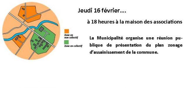 La Municipalité de Saint-Julien-de-Coppel organise une réunion publique pour rendre compte des travaux concernant l'étude du zonage d'assainissement communal. Les différents scénarii étudiés ainsi que les propositions seront ainsi présentés. […]