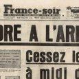 Le 19 mars 1962, à midi, prend officiellement effet un cessez-le-feu qui met fin à huit ans de guerre en Algérie.  La commémoration aura lieu le dimanche 19 […]