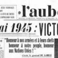 La commémoration de la victoire des Alliés sur l'Allemagne nazie et la fin de la Seconde Guerre mondiale en Europe aura lieu le lundi 8 mai au monument aux morts, […]
