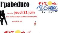 La section Ol PABEDUCO, de l'AMCLS organise une démonstration – initiation aux danses latines pour la Fête de La Musique le 21/06/2018 à partir de 19 heures à […]