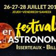 Organisé par l'association Astr'Auvergne, le premierfestival d'astronomiese déroulera les 26, 27 et 28 juillet à Isserteaux et Billom !  Ici, tous les renseignements nécessaires sur le festival : https://www.astrauvergne.com/ […]