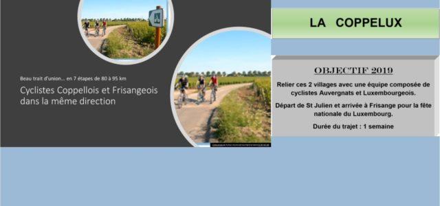 Fin du périple Pour finaliser la semaine, les cyclistes et quelques accompagnants se sont rendus à Schengen. Une dernière sortie avec déjeuner en bord de Moselle côté Allemagne. La soirée […]