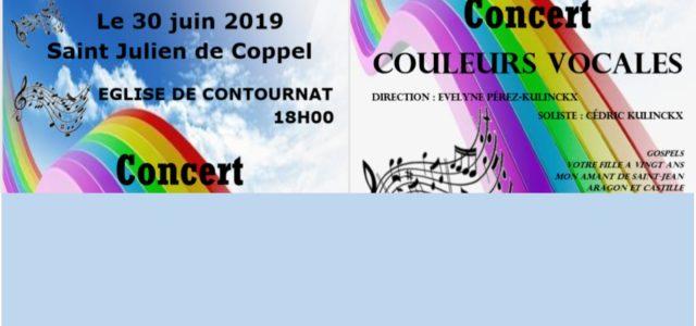 Dans le cadre de la restauration de l'église de Contournat, commune de Saint-Julien-de-Coppel, un concert sera donné le dimanche 30 juin à 18h. L'entrée est libre et les fonds récoltés […]