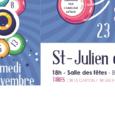 L'amicale laïque deSaint-Julien-de-Coppelorganise son LOTOsamedi 23 novembre à 18 heures,à la Salle des fêtes. A gagner : 400 euros de carte cadeau au Centre JAUDE      […]