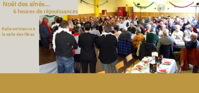 Un peu à l'étroit dans la salle des fêtes, plus de 130 convives se sont retrouvés dimanche 1er décembre. Le repas des plus de 70 ans préparé par la maison […]