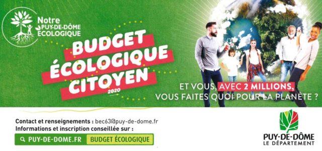 Le Conseil départemental du Puy-de-Dôme lance un budget participatif pour des projets sur l'environnement Le Conseil Départemental du Puy-de-Dôme s'engage pleinement pour devenir pilote en matière de transition écologique. Volontaire, […]