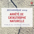 Mouvements de terrains différentiels consécutifs à la sécheresse et à la réhydratation des sols , l'arrêté ministériel du 16 juillet 2019 portant connaissance de l'état de catastrophe naturelle est publié […]