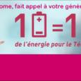 1 Pile = 1 Don de l'énergie pour le Téléthon  La collecte de piles usagées de Télédome recommence au profit du Téléthon  1 Tonne Collectée = 250 […]