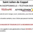 TÉLÉTHON 2020 => L'association communale Télédome collecte vos piles usagées…. 22/10/2020 1 Pile = 1 Don de l'énergie pour le Téléthon La collecte […]
