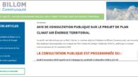 https://billomcommunaute.fr/avis-de-consultation-publique-sur-le-projet-de-plan-climat-air-energie-territorial/ L'arrêté de prescription => ARR_20201021_N320-CONSULTATION-DU-PUBLIC-PCAET-TdT-1