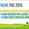 CAMPAGNE PAC 2015 : nouveau calendrier :Politique Agricole Commune Telepac, adapté pour la campagne 2015, permettra aux agriculteurs d'être guidés pas à pas dans leur déclaration. La télédéclaration est donc […]
