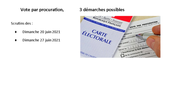 Un électeur peut donner procuration s'il ne peut se rendre au bureau de vote le jour de l'élection => https://www.service-public.fr/particuliers/vosdroits/F1604 => onglet démarche => consultez les 3 façons de donner […]