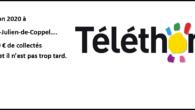 COLLECTE PILES USAGÉES Pour la 4ème année consécutive, l'association Télédome collecte les piles usagées au profit du Téléthon.  La société Batribox reverse 250€ par tonne de piles collectés à […]